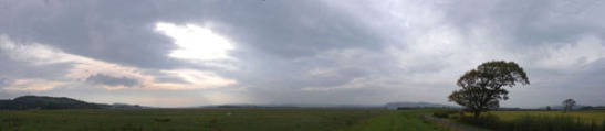 The Kent Estuary near Milnthorpe. Photo: David Hill, September 2013