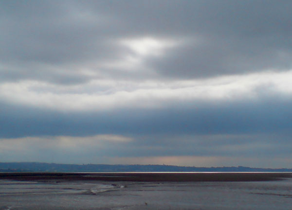 Morecambe Bay towards Lancaster #600