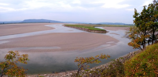 Kent Sands from near Arnside. Photo: David Hill, September 2013