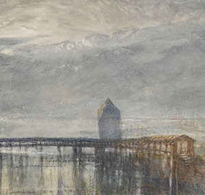 J.M.W.Turner Lucerne by Moonlight (detail) British Museum, London