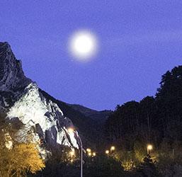 Sisteron Buech Moon tailpiece
