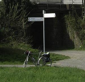 Bike near Bingen