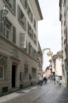 Lucerne: The Hotel Goldener Adler from the Rossligasse Photograph by David Hill, 27 May 2014, 15.46