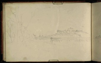 J.M.W.Turner Lancaster Bridge and Castle from the North-East, 1816 From the Yorkshire 5 sketchbook, TB CXLVIII 37 a Page size, 173 x 260 mm Photo courtesy of Tate To see the image in the Tate's online catalogue of the Turner Bequest, click on the following link, and press your browser's 'back' button to return to this page: http://www.tate.org.uk/art/sketchbook/yorkshire-5-sketchbook-65790