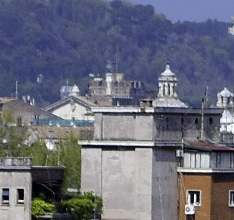 Glimpse of Castel Sant' Angelo