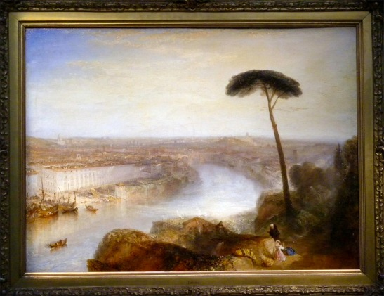 J.M.W.Turner, Rome from Mount Aventine, 1836 Oil on canvas, 92.7 x 125.7 cm; 36 ½ x 49 ½ ins. Sold Sotheby's London, 3 December 2014, lot 44, bought private collector. Photograph David Hill (courtesy of Sotheby's) Sold for £30.3m, a world record for the artist, and the second highest price ever for an old master. Click on image to enlarge