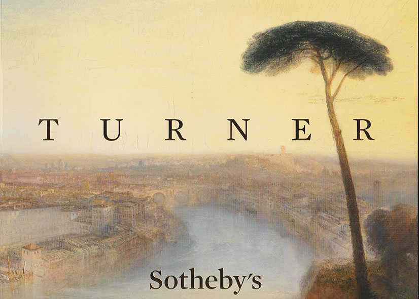 Special catalogue produced by Sotheby's for the sale
