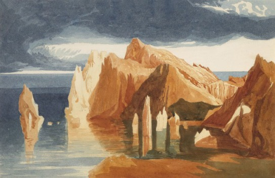 ?John Sell Cotman Point Lorenzo, Madeira, 1828c Watercolour, 267 x 405 mm (10 1/2 x 16 ins), on sheet 339 x 479 mm (13 1/4 x 18 7/8 ins). Vancouver Art Gallery, Canada (VAG 61.4) Photograph courtesy of Vancouver Art Gallery.