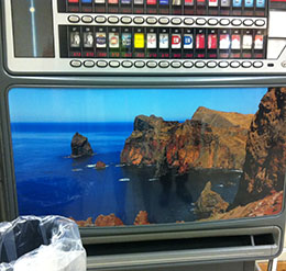 In the supermarket at Machico, Madeira. Photograph by David Hill, 14 February 2015, 21.01