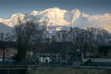 Mont Blanc evening #1