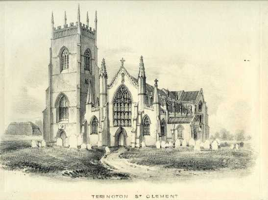 John Berney Ladbrooke (attrib.) Terrington St Clement, 1821 Lithograph on paper, 187  x 253 mm Norwich Castle Museum, NWHCM : 1954.138 Image courtesy of Norwich Museums Collections To view this work in Norfolk Museums Collections' own online catalogue click on the following link then use your browser's 'back' button to return to this page: http://www.norfolkmuseumscollections.org/collections/objects/2128696806.html/#!/?q=ladbrooke%2Bterrington This is the only other pre-1829 restoration image of Terrington that I can find. Unfortunately the quality of the detail is so poor in comparison to Cotman's that it sheds no light on Cotman's accuracy.