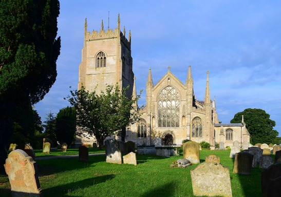 Terrington St Clement's Church, Norfolk, west front Photograph by David Hill taken 15 August 2015, 17.46 GM