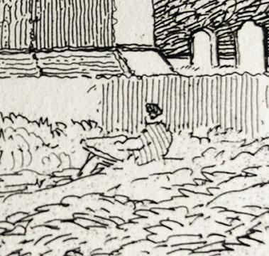 Tilney etching artist small SS