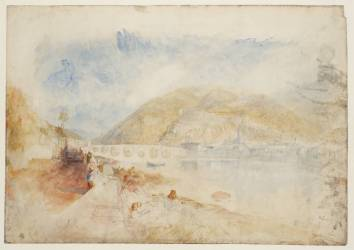 J M W Turner Heidelberg: Large Colour Study, c.1841 Graphite and watercolour on paper, 486 x 693 mm Tate, London, D36325; Turner Bequest CCCLXV 34 Photo courtesy of Tate To view this image in Tate's own catalogue of the Turner bequest, click on the following link, and use your browser's 'back' button to return to this page. http://www.tate.org.uk/art/artworks/turner-heidelberg-large-colour-study-d36325