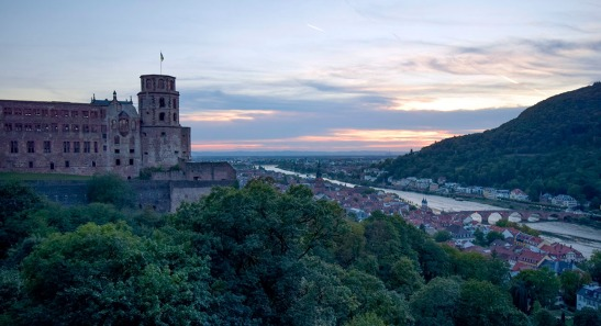 Heidelberg sunset Photograph by David Hill taken 26 August 2015, 18.20 GMT