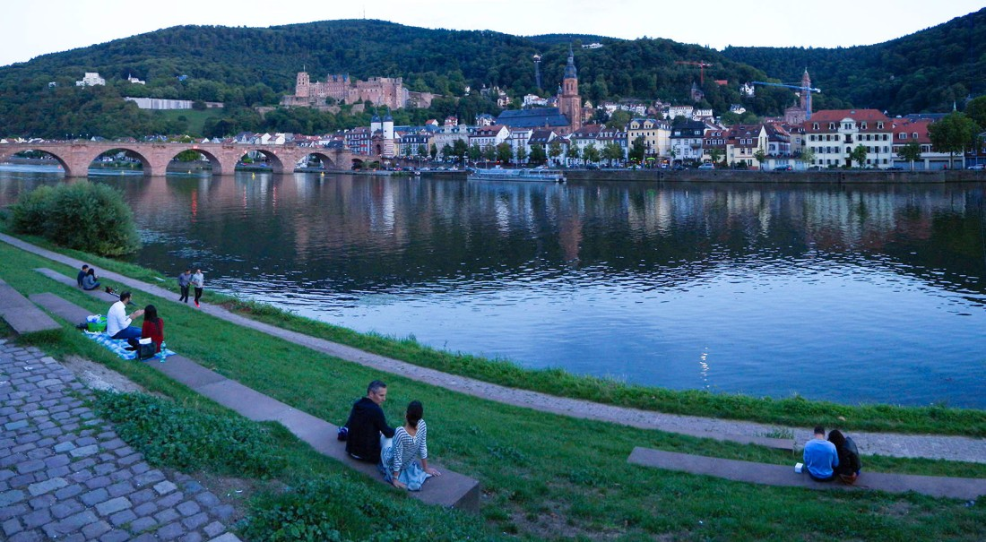 Heidelberg sundowners Photograph by David Hill, taken 25 August 2015, 18.25 GMT
