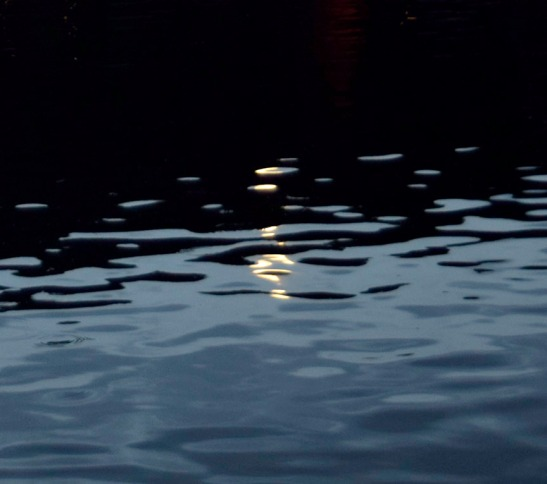 Moonight reflection