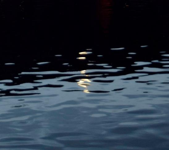 Moonight reflection