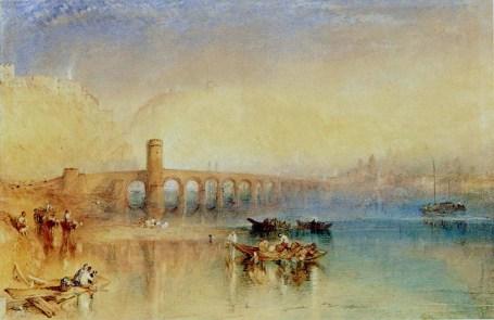 J M W Turner Koblenz, Germany, 1842 Watercolour, 303 x 467 mm USA, Ohio, Cincinnati Art Museum, 1956.112 Photograph courtesy of Cincinnati Art Museum