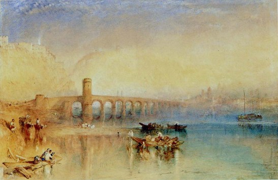 J M W Turner Koblenz, Germany, 1842 Watercolour, 303 x  467 mm USA, Ohio, Cincinnati Art Museum, 1956.112 Photograph courtesy of Cincinnati Art Museum