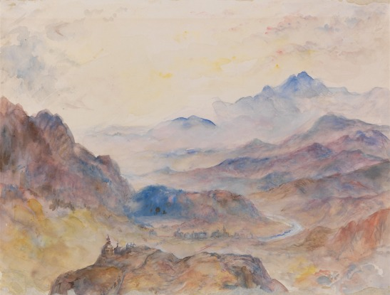 ?H A J Munro of Novar The Ascent of the Mont Cenis Pass above Susa, 1836 Pencil and watercolour, 231 x 300 mm USA, New Haven, Yale Center for British Art, Yale Art Gallery Collection, John Hill Fund, B1979.12.830 as 'Mountain Scene, Mist Rising; unknown artist, style of Joseph Mallord William Turner, 1775–1851, British Image courtesy of Yale University, http://collections.britishart.yale.edu/vufind/Record/1666857 Munro was Turner's travelling companion on the tour of 1836. Given the similarity of this to the Christie's watercolour, it may be identified as a similar vantage point, and given the approximation to Turner's manner, it seems possible that it was made under Turner's instruction. We do know that such instruction took place (see SublimeSites, 'Turner at Sallanches', 19 March 2015) but this would be the first product of the instruction to be identified.
