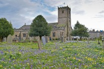 St Mary's Church, Kirkby Lonsdale Photograph by David Hill, taken 21 March 2016, 15.33 GMT The churchyard is always worth a visit, but especially so when the crocuses are in flower.