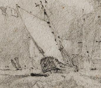 Cotman Van Tromp detail
