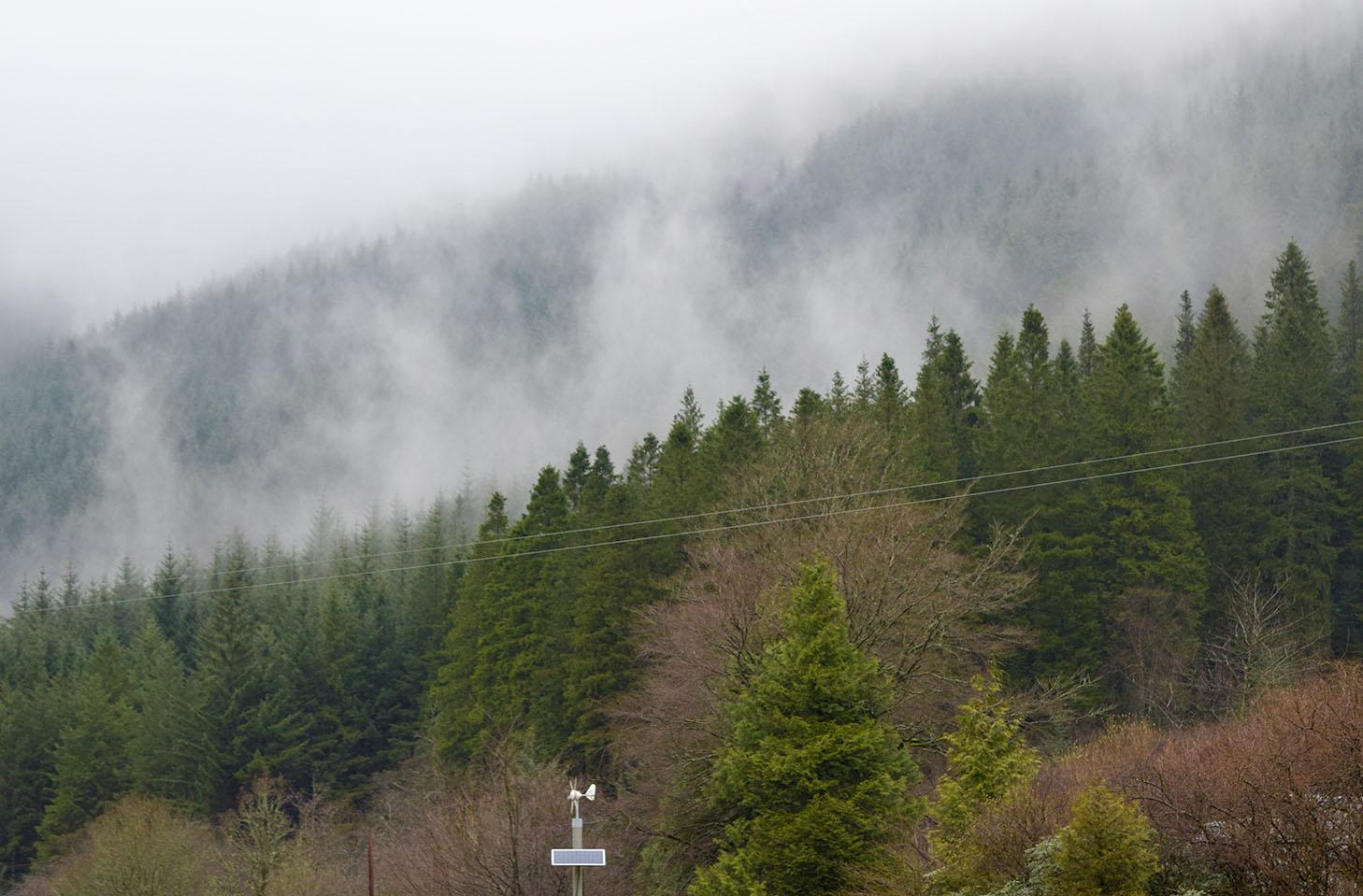 Mist on Ben Arthur Photograph by David Hill taken 4 April 2016, 14.54 GMT