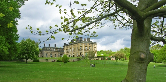 Bretton Hall from the south-west Photograph by David Hill taken 7 May 2007, 13.45 GMT