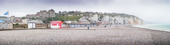 Dieppe Castle from the Beach Photograph by David Hill, 5 September 2016, 15.49 GMT (17.49 local) Best viewed full size: Click on image to enlarge