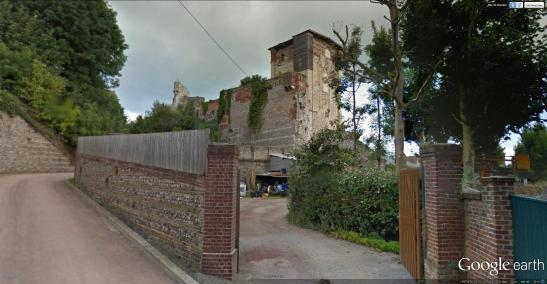 St Remy Tower from the South Google Earth Streetview