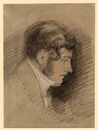 John Sell Cotman Portrait of Miles Edmund Cotman, c.1831 Black chalk, heightened with white, touched with red chalk, on grey paper, 190 x 140 mm London, British Museum, 1885,1010.4 This drawing has hitherto been called Portrait of John Sell Cotman, but the subject if John Sell is too young ever to have been drawn by Miles Edm