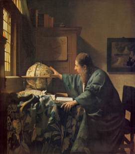 ohannes Vermeer (1632-1675) The Astronomer, 1668 Oil on canvas, 510 x 450 mm Louvre, Paris Image courtesy of the Louvre http://www.louvre.fr/oeuvre-notices/lastronome