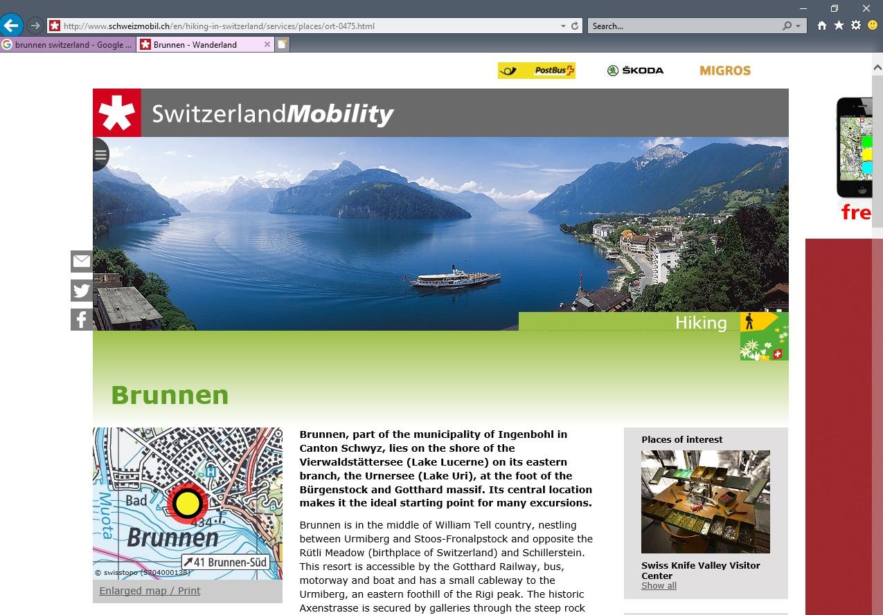 Switzerland mobility image