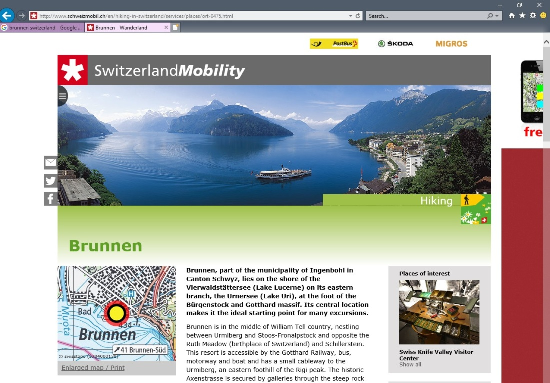 Switzerland mobility image
