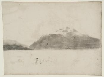 J.M.W.Turner Ben Lomond from Luss, 1801 Chalk and graphite on paper, 353 x 481 mm From the series of 'Scottosh Pencils', Tate, London, D04894, Turner Bequest, TB LXXX A Image courtesy of Tate. To see this image in Tate's own online catalogue, click on the following link, and then use your browser's 'back' button to return to this page: http://www.tate.org.uk/art/artworks/turner-ben-lomond-from-luss-d04894
