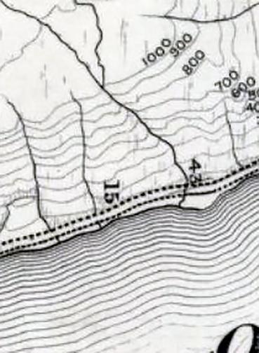 OS 2nd ed Loch Lomond- detail streams