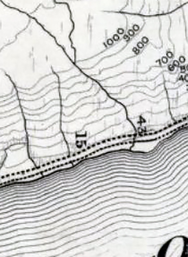 OS 2nd ed Loch Lomond- detail streams