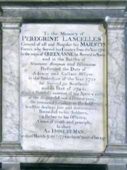 whitby lascelles monument