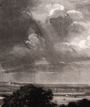 Metropolitan Museum (40.9.5) Detail of crepuscular ray