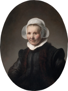 Portrait of Aeltje Uylenburgh Rembrandt Harmensz. van Rijn (Dutch, 1606–1669) 1632 Oil on panel * Rose-Marie and Eijk van Otterloo Collection * Reproduced with permission. * Courtesy Museum of Fine Arts, Boston