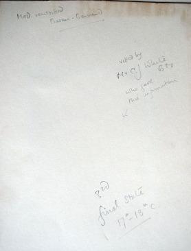 Mount inscriptions #2