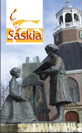 Saskia 400 brochure cover #2