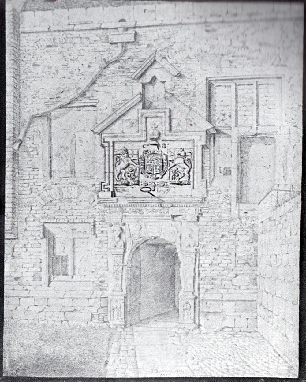 Browne Kings Manor 1817