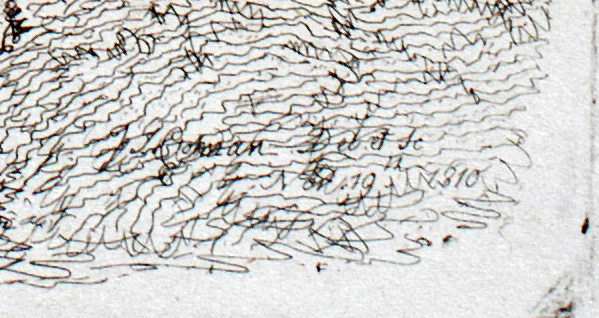 Duncombe inscription detail