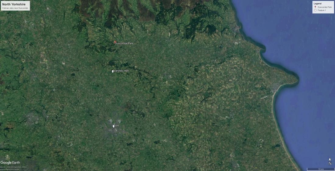 GE Cotman sites near Duncombe
