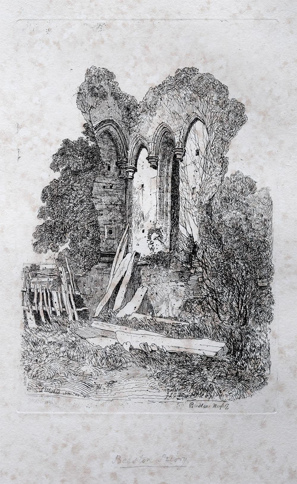 Beeston Priory 1811